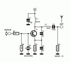 Circuito Receptor e Transmissor de Dados de Baixo custo
