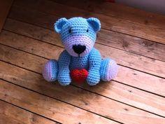 Crochet AMIGURUMI ours doudou 1 / Amigurumi bear easy crochet 1 - YouTube