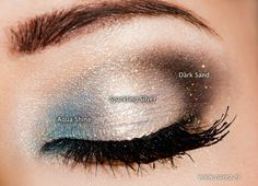 Pure Mineral Make-up: Heavenly Holiday Eyes!