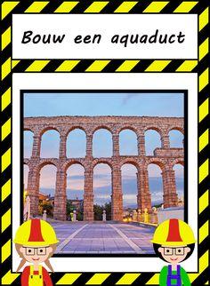 Bouw een aquaduct Greece, Brick, Lego, Around The Worlds, Building, Schools, Italy, Little Einsteins, Kunst