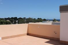 Penthouse with roof terrace and sea views in Cala Angila