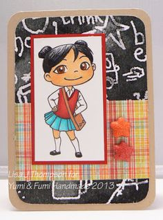 Fumi with Messenger Bag project handmade by Team Yumi Lisa T