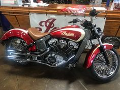Great looking Indian Scout from Rich Worley of American Biker / Indian Motorcycle of Charleston DC WInner) with Yelvington USA's Black Hills Shocks, Ridewright Wheels - 30 Spoke and slipons from Aeromach USA, LLC Bycicle Vintage, Bycicle Art Indian Motorbike, Indian Motorcycles, Triumph Motorcycles, Custom Motorcycles, Indian Scout Custom, Motorcycle Style, Motorcycle Girls, Bobber Motorcycle, Motorcycle Quotes