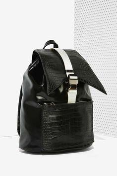 Team Street Vegan Leather Backpack - Accessories | Bags + Backpacks