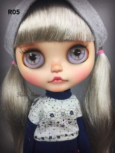Custom Flat Eyechips for Blythe Doll R01-05 by StableHouse on Etsy
