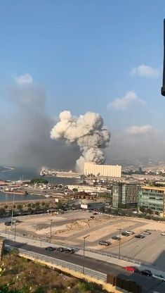 Beirut Explosion, Wow Video, Aerial Images, Explosions, Sounds Like, Location History, The Neighbourhood, In This Moment, Shit Happens