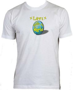 Levi Rocks My World Adult Male (Mens Fit) Super Soft T-Shirt WHITE LARGE