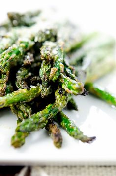 I love the crisp ends that inevitably happen with this grilled asparagus recipe.