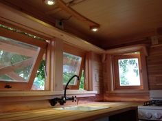 Kitchen reference | Pinafore Tiny House on Wheels by Zyl Vardos Photo