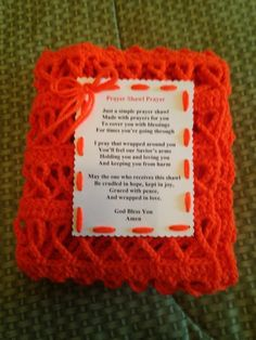 Prayer Shawl for Leukemia , Kidney Disease and Cancer, and Muscular Sclerosis