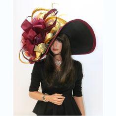 Collerby by Vinzetta at www.ChurchDerbyHats.com Kentucky Derby Hats