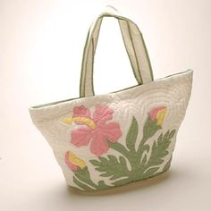 Hawaiian Quilt - Large Tote Bag
