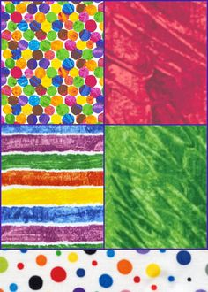 Eric Carle Fabric The Very Series 5 Piece Fat Quarter Blender Bundle on Etsy, $13.50