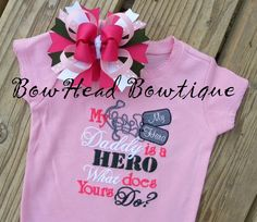 Daddy is my Hero (For Girl)
