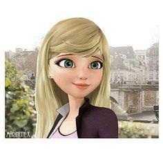 Маринет блондинка
