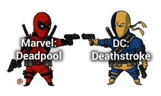 Marvel Vs DC: Equivalent Characters :)