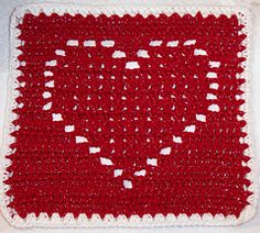 Heart Square 12x12 ~ free pattern ᛡ