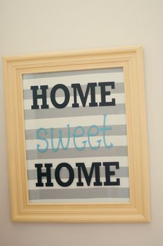 Little Gray Table: A Sweet Sign, easy DIY sign!!