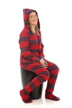 c3dc1ebbda Retro Footed Pajamas from Funzee. Only available online from www.funzee.com.  Funzee · Adult Onesies ...