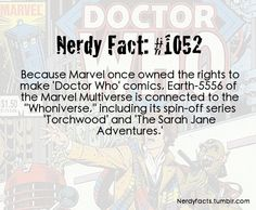 This links up with the fact that DW characters were spotted in a more recent marvel comic. Namely, 10, Rose, and Mickey