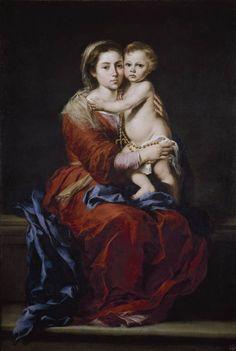 La Virgen del Rosario, Murillo