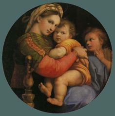 The Madonna of the Chair Raphael