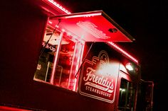 Freddy's Frozen Custard Food Truck built by Cruising Kitchens the largest mobile business manufacturer in the world! Food Truck - Mobile Business - Build a Food Truck #FoodTruck #mobilebusiness #buildafoodtruck #iwantafoodtruck