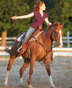 Confident Lope Departs | Horse&Rider || exhale while cueing, sit straight, don't look down, don't pull on reins