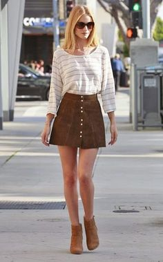 Social Wardrobe: Rosie Huntington Whiteley Street Style