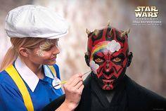 Darth Maul loves Disney!: Prints of Star Wars characters at Disney.