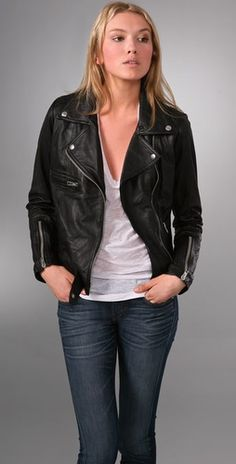 jennifer aniston leather jacket - Google Search