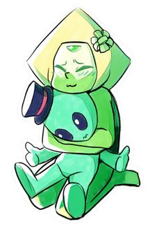 so the newest member of the crystal gems is pretty cute
