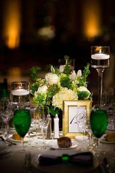 wedding centerpiece idea; Asya Photography