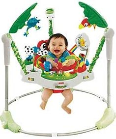 Fisher-Price Rainforest Jumperoo Baby Bouncer. For your chance to product test baby products for free, click here: http://www.producttesting.uk.com/128/?campaign=pinterest&keyword=baby