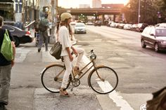 You can wear a helmet and still look chic.