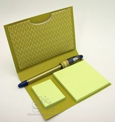 Post-it note holder tutorial