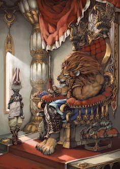 暇な王様っていいですね。  描いてたらキリなくなったのでこの辺にします・・・