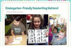 FREE HANDWRITING PRACTICE pages, articles, strategies, and research. Kindergarten-Friendly Handwriting Matters! is a beautiful blog for kindergarten and special ed teachers, and parents who homeschool. Discover joyful pathways to accelerated literacy...