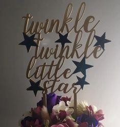 """Topper tort """"Twinkle, twinkle, little star"""" s2 – Tomvalk Twinkle Twinkle Little Star, Stars, Model, Home Decor, Sterne, Interior Design, Home Interior Design, Models"""