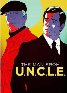 The Man From Uncle art by Yehuda DeVir Yehuda Devir, The Man From Uncle, Film Posters, Joker, Fandoms, Fan Art, My Favorite Things, Movies, Fictional Characters
