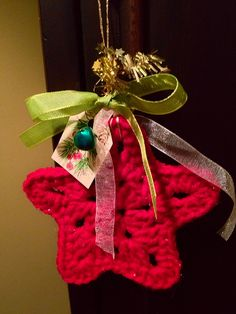 Crochet Christmas Ornament | Flickr - Photo Sharing!
