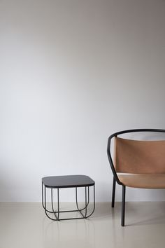 MENU, FUWL Cage Table By Form Us With Love, Afteroom Lounge Chair By Afteroom