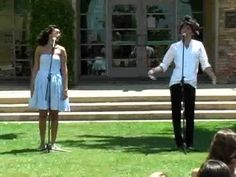 """Sarah Kay & Phil Kaye perform the original Spoken Word poem """"This American Life,"""" written by Phil Kaye, at the Sage Hill High School, Newport Beach, Ca. April 29, 2008    I wish they could come to our school!!! @Savannah Dress @Annabel McSpadden"""