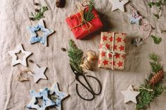 Picture of various Christmas decorations by NatashaBreen on Envato Elements