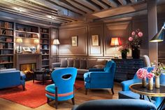 Hotel Verneuil redesigned by Patrick and Caroline Leghima
