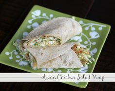 asian chicken salad wrap 3 Asian Chicken Salad Wrap + Toufayan Recipe Challenge (One Reader Wins $100 Publix Gift Card!)