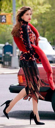 Manhattan Girl- Laetitia Casta- #LadyLuxuryDesigns