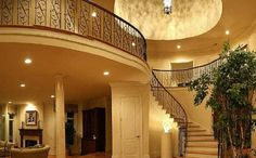 Luxury Home Interior Design, course we all want to have a nice house and we all want it to look luxurious and elegant that is why we only bu. Interior Design Gallery, Home Interior Design, House Inside, Luxury Homes Interior, My Dream Home, Future House, Home Goods, Stairs, Mansions