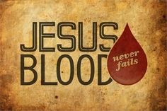Jesus blood never fails!!! Nothing but the blood of Jesus!!!