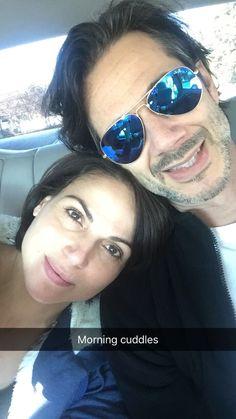 Awesome Lana and  Fred  #Morningcuddles #LosAngeles #Ca Sunday 12-4-16 #LanasSnapChat